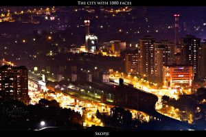 The city with 1000 faces - Skopje by Gautama-Siddharta