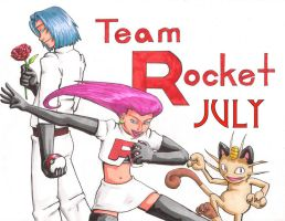 Team Rocket: July by Elicadragon