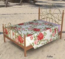 Ready ! Prop Peachy Maid's Bed by mCasual