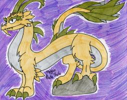 DragonVale- Leap Year Dragon by SilentDragon64