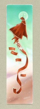 Journey bookmark by Neko-Art