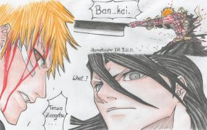 My fav scene in Bleach by DevilishMirajane
