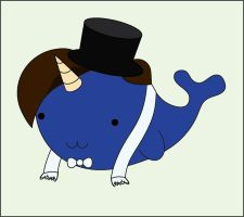 Eleventh Doctor Dressy Narwhal by Lord-of-the-Fandoms