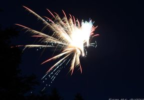 Fireworks 11 by M-L-Griffith
