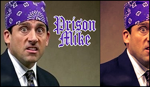"TheOffice ""Prison Mike"" Avatar by SLaPPyGFX"