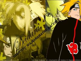 NEW Deidara Wallpaper by xXmariisa23Xx
