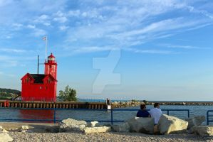 Holland State Park - Big Red by Vimmuse