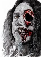 Slayer - Tom Araya by Red-Szajn