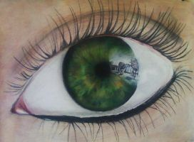 The Reflection in my Eye by Leenooh3