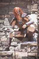 Skyrim - Aela the Huntress by TarasqueProductions
