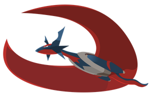 Mega Salamence Vector - Pokemon ORAS by firedragonmatty