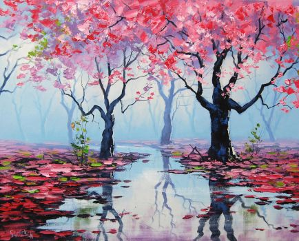 Spring Trees by artsaus
