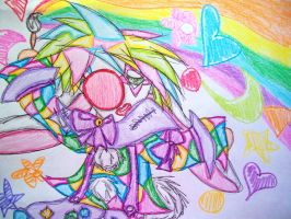 Rainbow Power by yukidogzombie