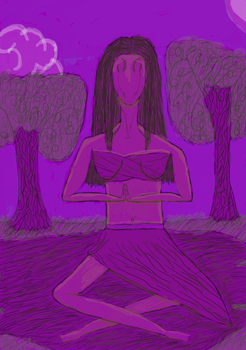 Purple for Spirit - Sila's Spirit for Lost Love by Beathyra