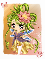 Collab of Lotus Princess by Jessilyna