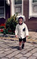 Two years old in Istanbul by Bilgekhan