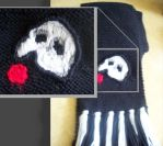 Phantom of the Opera Scarf by Scribblekin