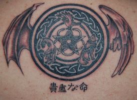 Celtic back piece by dragonfriend7738