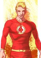 Daily Sketches Human Torch by fedde