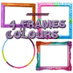 4 Colours  Frames by myfavoritedesing