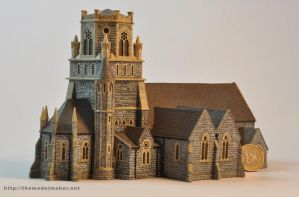 Irish church model by artmik