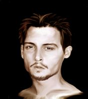 Johnny Depp by Morna