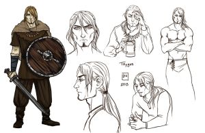 Sketch Page_Trygve by BlackBirdInk
