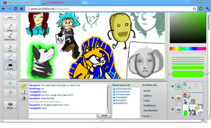 My Short Day at iScribble.net 4 by xItsElectric