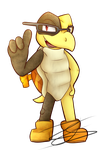.:Garret:. *Commission for Mecha* by Nights2Dreams