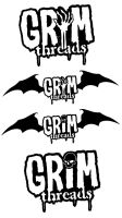 Grim threads logo 2 by grimcinder