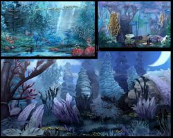 Blue forest concepts by Ranarh