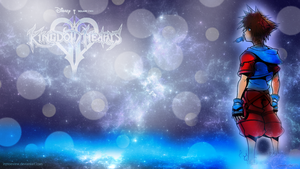 Gazing at the stars - Kingdom Hearts Wallpaper by InMoeView