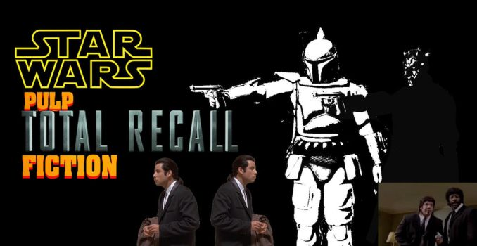 Request #1733 Total Recall Fiction poster but SW by MichaelJordy