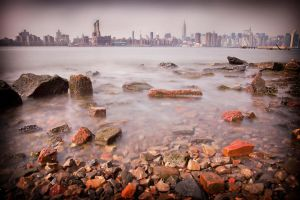 The East River by b-rooks