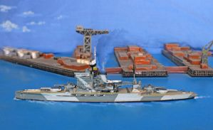 'The Grand Old Lady' in 1:1200 Scale by Brit31