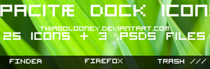 Opacitae dock icons by thiagolooney
