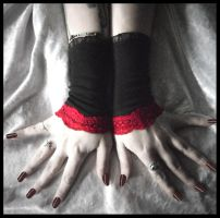 Nocturne Fingerless Gloves by ZenAndCoffee