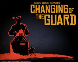"""Changing of the Guard"" title card by thecheckeredman"