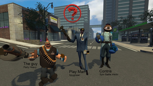 GARRYSMOD: Me and my friends TF2 Style :D by 0-Yuki-Nagato-1