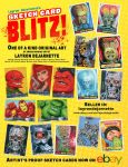Layron DeJarnette SKETCH CARD BLITZ! sale on eBay by DeJarnette