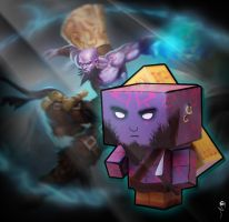 Cubecraft Ryze by Oklagija95