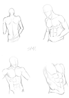Male study 6 by MoonWolf100055