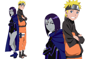 Point Commission - Naruto n Raven by dannex009