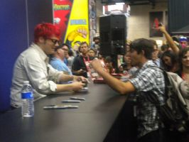 me and gerard way My hero by mcr19HappyThoughts