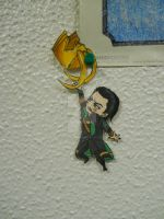 Loki Paper-Child by CrazyOtaku13