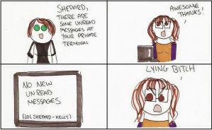 Mass Effect 2: Chambers is a Liar by DivaXenia