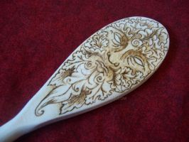 Greenman Spoon by parizadhe