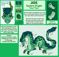 Jade - reference by CookieSharkArts