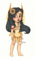 Chibi Disney Fairy Collection: Pocahontas by chelleface90