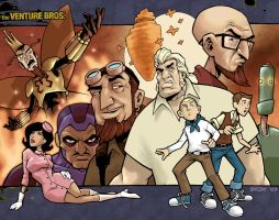 the venture bros by dr-barzak